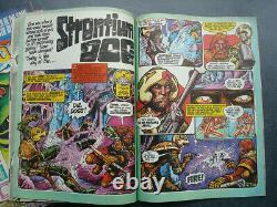Starlord 1-22 UK Sci-Fi magazine 1978 Strontium Dog Star Wars 2000 AD
