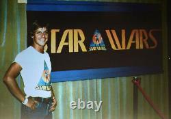 The Star Wars Vintage 1976 Ralph Mcquarrie SDCC Comic Con Sticker Pre-Production