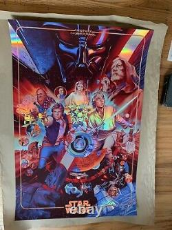The Ways Of The Force Foil Variant Ansin Mondo Poster Comic Con Star Wars