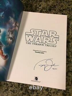 Thrawn Trilogy-SIGNED Timothy Zahn-Dark Horse Omnibus Hardcover Graphic Novel