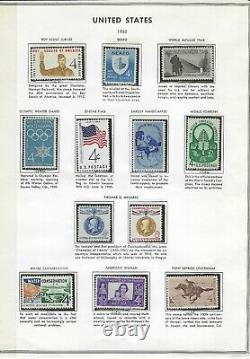 US Stamp Collection-1800 stamps and complete collection from the 60's on