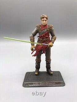 Ulic Qel-Droma Star Wars Action Figure Comic Pack Legacy Collection #11 2009