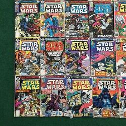 Vintage Lot Of 42 Star Wars Comic Books