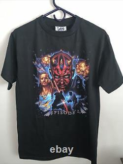 Vintage Star Wars Episode 1 Darth Maul tee Perfect Condition With Tags