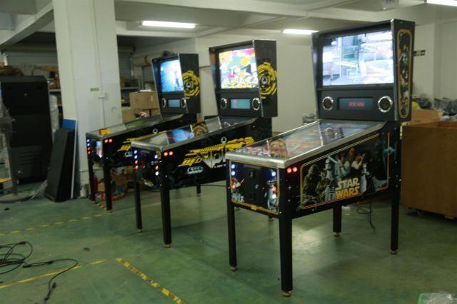 Virtual Pinball Machine 925 Games! Marvel Dc Star Wars Superman Spiderman