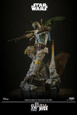 XM Studios Boba Fett Star Wars 1/4 Scale Statue Brand New